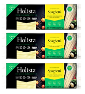 Holista Low GI Spaghetti - Pack of 3 - Available on Amazon Prime