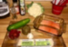 Holista Spaghetti Salmon Ingredients