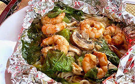 Shrimp on the BBQ Gopd Healthy Carb Recipe