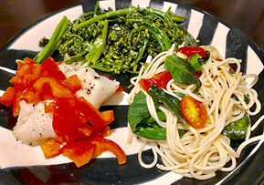 Healthy Holista Spaghetti Dinner