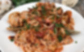 Healthy Carb Shrimp and Clam Marinara