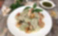 Holista Low GI Pesto Prawn Recipe