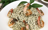 Holista Low GI Pesto Prawn Recipe
