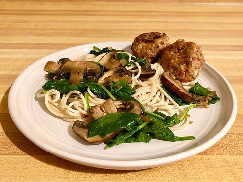Sage Turkey Meatballs - Bon Appetit!