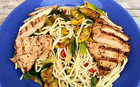 Grilled Chicken and Veggie Good Carb Recipe