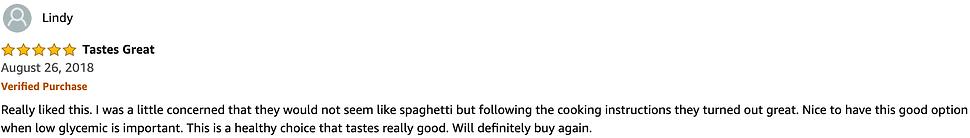 Holista Pasta 5 Star Review