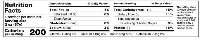 Holista Pasta Nutritional