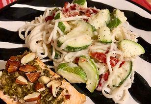 Hoista Spaghetti Alfredo Recipe