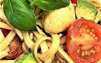 delicious bocconcini pasta salad