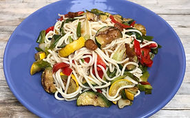 Low GI Holista Pasta with Grilled Vegetable