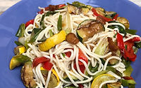 Holista Low GI Noodles and Veggies Recipe