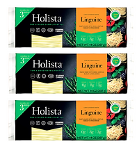 Holista Low GI Linguine - Pack of 3 - Available on Amazon Prime