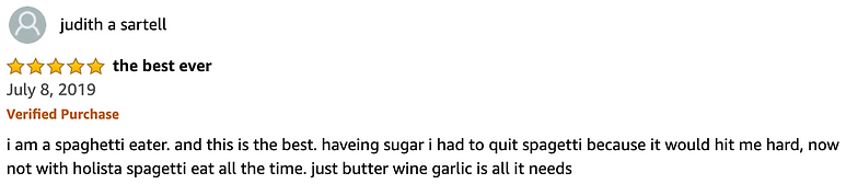 The Best Ever 5 Star Amazon Review