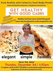 Cook Healthy with Nadja