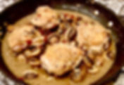 Braised Chicken with Mushrooms & Bacon.j