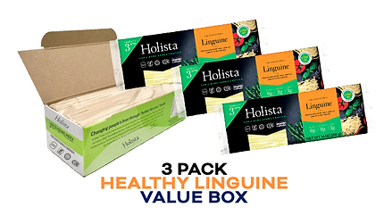 Holista Linguine 3 pack available on Amazon Prime