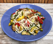 Healthy Vegetables and Noodles