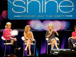 Nadja key speaker at Shine with Ali Brow