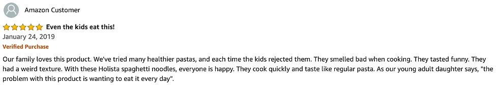 Kids Love It 5 Star Amazon Review