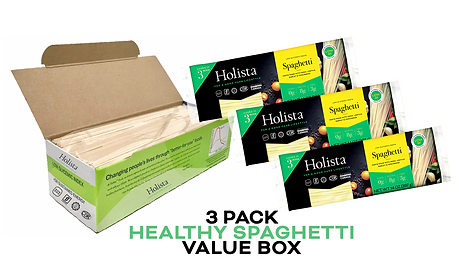 Holista Spaghetti 3 Pack available on Amazon Prime Pantry