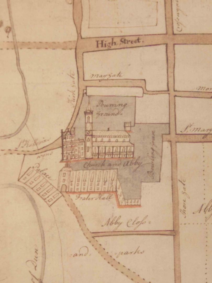 Plan of Dunfermline, 1766