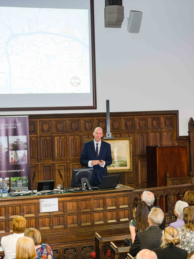 Public lecture at the University of Glasgow