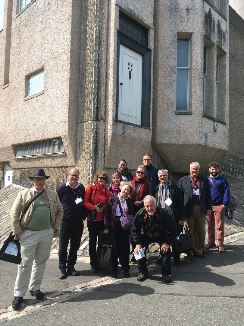 Society of Architectural Historians - Tour of Glasgow University, 2017