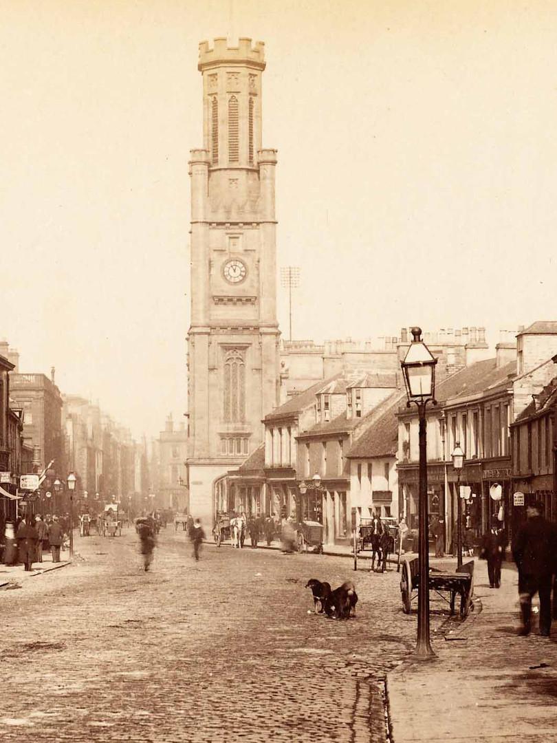 High Street, Ayr, circa 1880