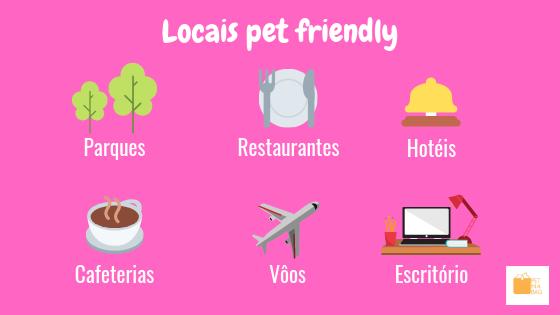 Estabelecimento e locais pet friendly