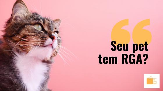 Como registrar um animal de estimação?