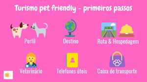 O que preciso para viajar com meu pet