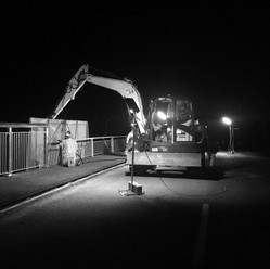 Bremner Road Overbridge Guardrail