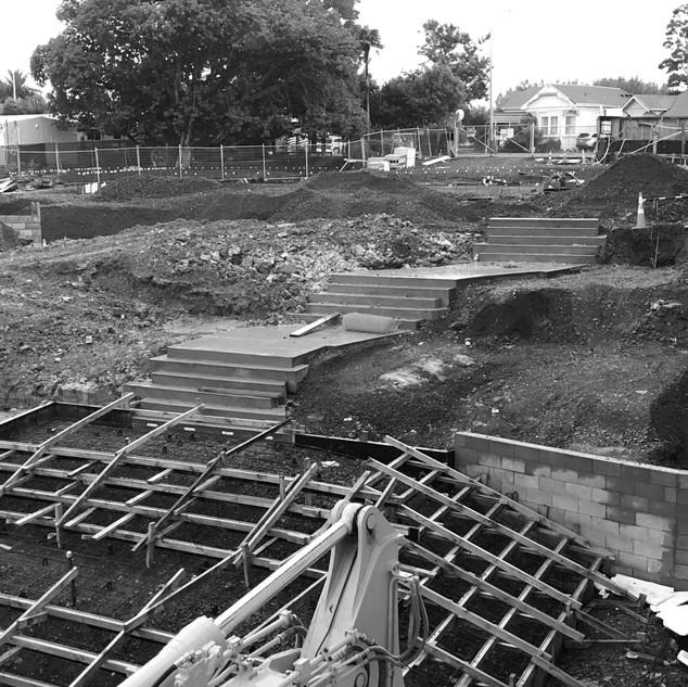 Grey Lynn School Site Works
