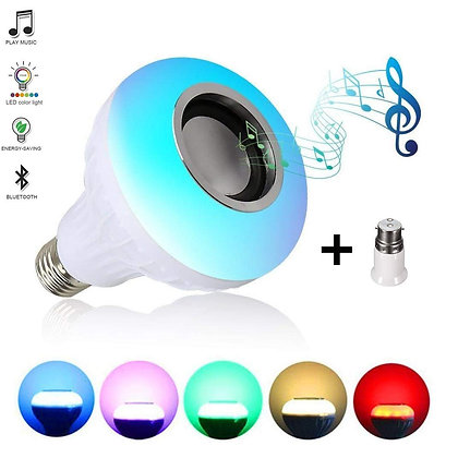 LED Music Light Bulb with Bluetooth