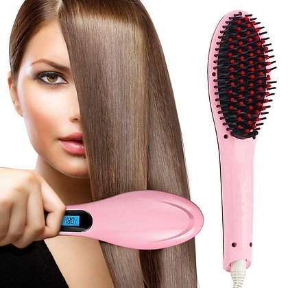 Electrical Comb Hair Straightener For Women