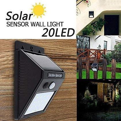 Motion Activated Sensor Solar Power LED Light