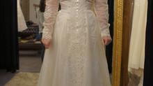 30년도 넘은 어머니의 드레스를 리폼