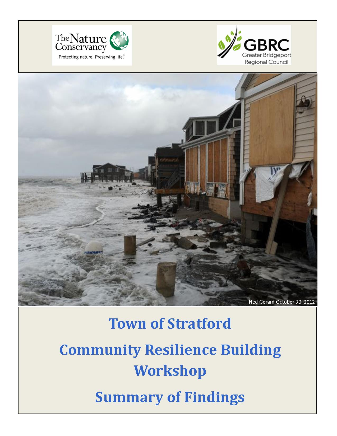 Community Resilience Building Workshop