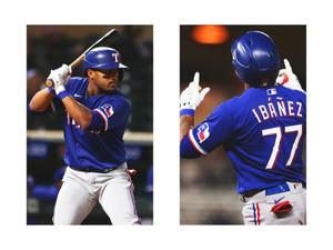 ¡Bienvenido a MLB el cubano No. 219!: Andy Ibáñez debuta bateando hit con los Rangers de Texas!