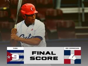 WBSC Clasificatorio de las Américas: Cuba vence 9-4 a República Dominicana en choque preparatorio