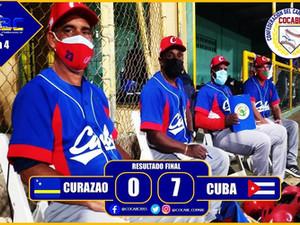 Cuba mantiene invicto en III Copa del Caribe al disponer de Curazao por blanqueda de 7-0
