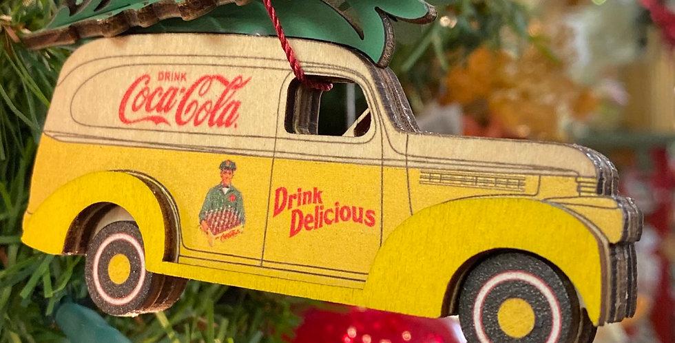 Coca Cola delivery vehicle