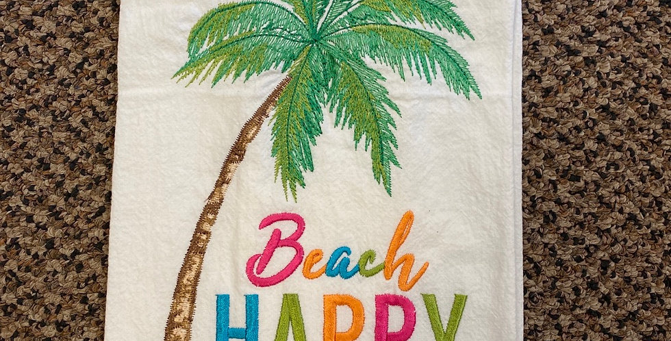 Beach Happy Palmtree