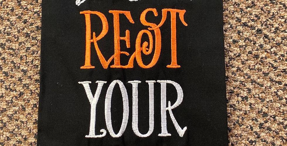 Rest your bones