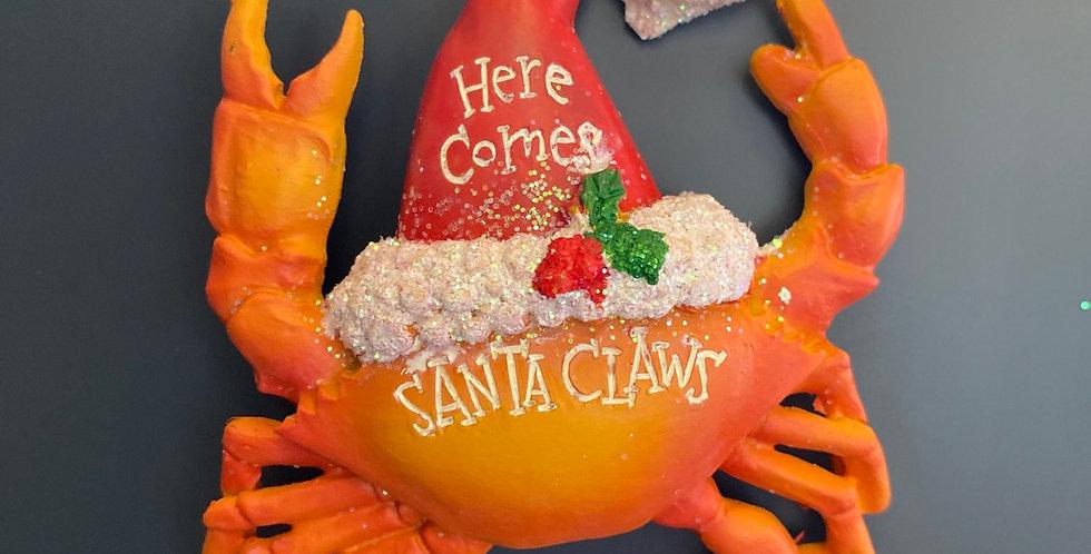 Red Crab Santa