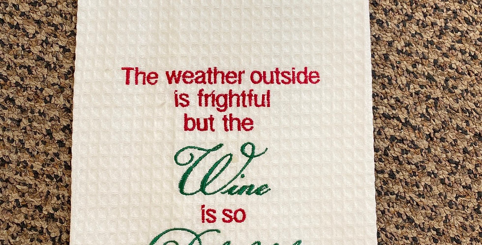 Wine is so delightful