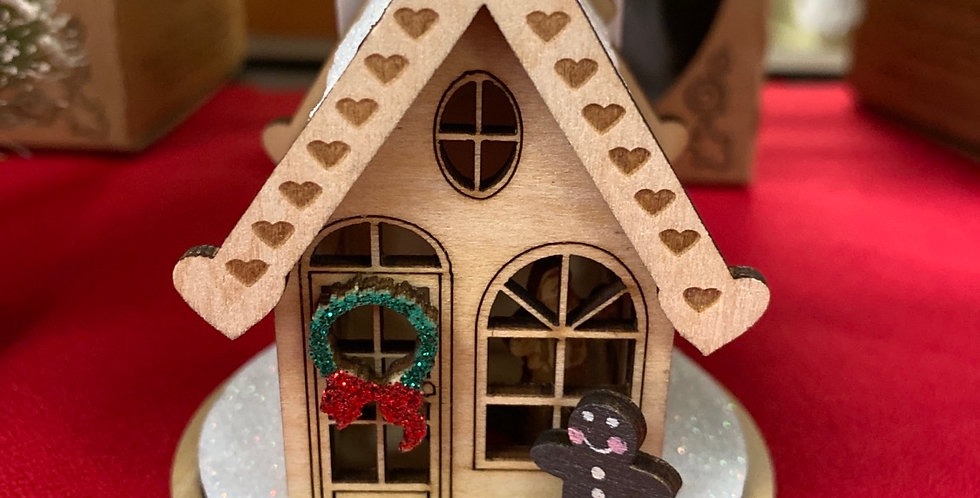 GINGERBREAD COTTAGE-GC101 UPC 729343800015