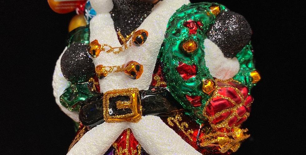 Bjorn Santa Bear-ing Gifts