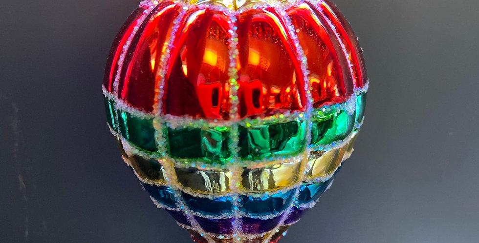 Vibrant Hot Air Balloon