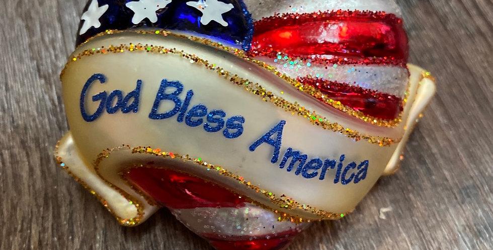 GOD BLESS AMERICA HEART UPC 729343300379
